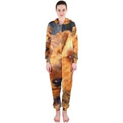 Welch Terrier Hooded Jumpsuit (Ladies)