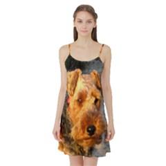 Welch Terrier Satin Night Slip
