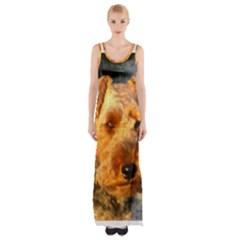 Welch Terrier Maxi Thigh Split Dress