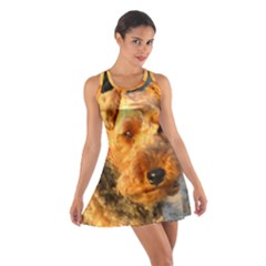 Welch Terrier Cotton Racerback Dress