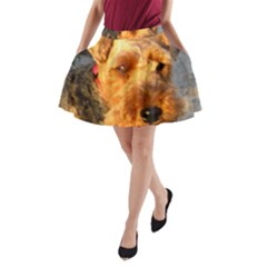 Welch Terrier A-Line Pocket Skirt