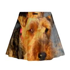 Welch Terrier Mini Flare Skirt