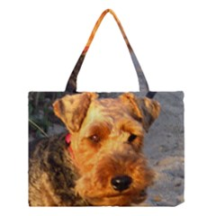 Welch Terrier Medium Tote Bag