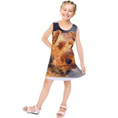 Welch Terrier Kids  Tunic Dress
