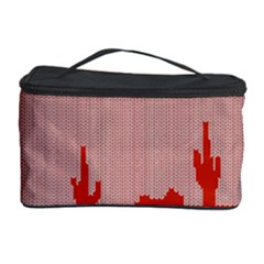 I Juan To Believe Ugly Holiday Christmas Red Background Cosmetic Storage Case