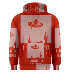 I Juan To Believe Ugly Holiday Christmas Red Background Men s Pullover Hoodie