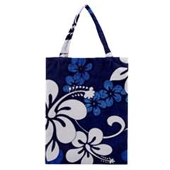 Blue Hibiscus Classic Tote Bag