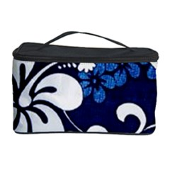 Blue Hibiscus Cosmetic Storage Case