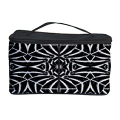 Black and White Tribal Pattern Cosmetic Storage Case