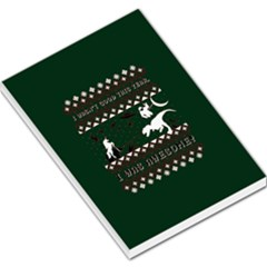 I Wasn t Good This Year, I Was Awesome! Ugly Holiday Christmas Green Background Large Memo Pads