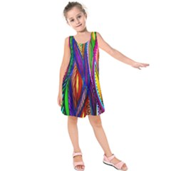 Kids Modern Leaf Dress