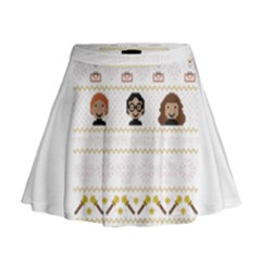 Merry Nerdmas! Ugly Christmas Mini Flare Skirt