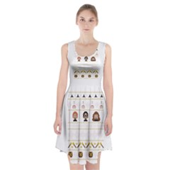 Merry Nerdmas! Ugly Christmas Racerback Midi Dress