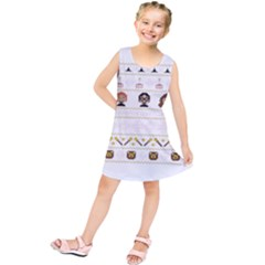 Merry Nerdmas! Ugly Christmas Kids  Tunic Dress