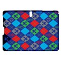 Minecraft Ugly Holiday Christmas Blue Background Samsung Galaxy Tab S (10.5 ) Hardshell Case  View1