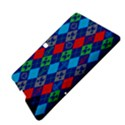 Minecraft Ugly Holiday Christmas Blue Background Samsung Galaxy Tab S (10.5 ) Hardshell Case  View4