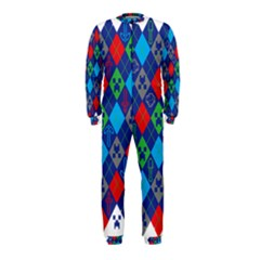 Minecraft Ugly Holiday Christmas OnePiece Jumpsuit (Kids)