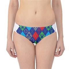 Minecraft Ugly Holiday Christmas Hipster Bikini Bottoms