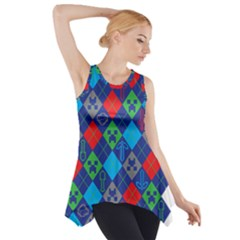 Minecraft Ugly Holiday Christmas Side Drop Tank Tunic