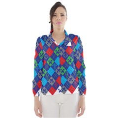 Minecraft Ugly Holiday Christmas Wind Breaker (Women)