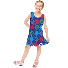 Minecraft Ugly Holiday Christmas Kids  Tunic Dress