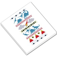 My Grandma Likes Dinosaurs Ugly Holiday Christmas Small Memo Pads
