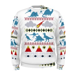 My Grandma Likes Dinosaurs Ugly Holiday Christmas Men s Sweatshirt