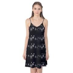 Black elegant  Xmas design Camis Nightgown