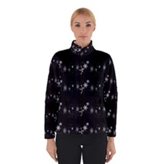 Black elegant  Xmas design Winterwear