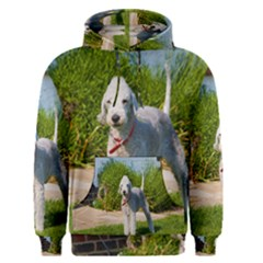 Bedlington Terrier Full Men s Pullover Hoodie