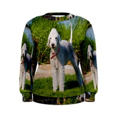 Bedlington Terrier Full Women s Sweatshirt