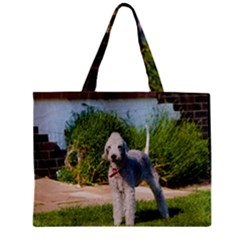 Bedlington Terrier Full Zipper Mini Tote Bag