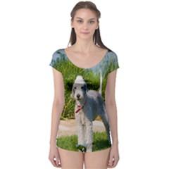 Bedlington Terrier Full Boyleg Leotard
