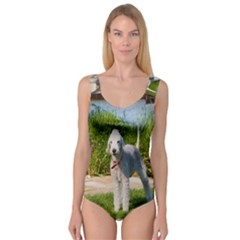 Bedlington Terrier Full Princess Tank Leotard