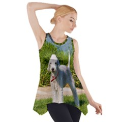 Bedlington Terrier Full Side Drop Tank Tunic