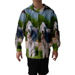 Bedlington Terrier Full Hooded Wind Breaker (Kids)