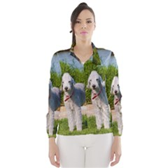 Bedlington Terrier Full Wind Breaker (Women)