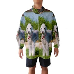Bedlington Terrier Full Wind Breaker (Kids)