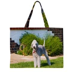 Bedlington Terrier Full Large Tote Bag