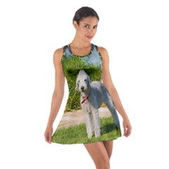 Bedlington Terrier Full Cotton Racerback Dress