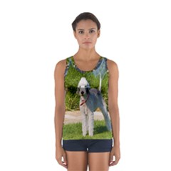 Bedlington Terrier Full Women s Sport Tank Top