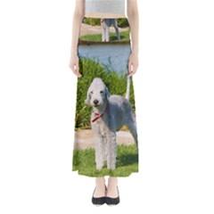 Bedlington Terrier Full Maxi Skirts