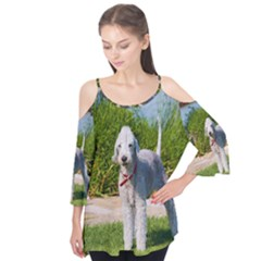 Bedlington Terrier Full Flutter Tees