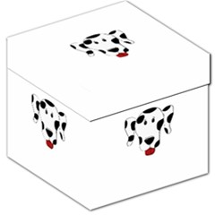 Dalmation cartoon head Storage Stool 12