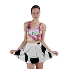 Dalmation cartoon head Mini Skirt