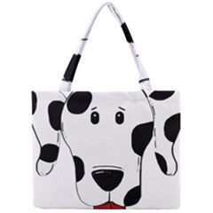 Dalmation cartoon head Mini Tote Bag