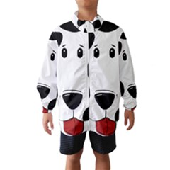 Dalmation cartoon head Wind Breaker (Kids)