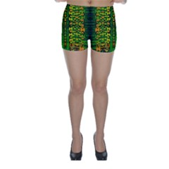 Magical Forest Of Freedom And Hope Skinny Shorts