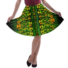 Magical Forest Of Freedom And Hope A Line Skater Skirt