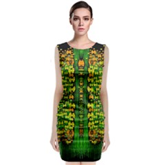 Magical Forest Of Freedom And Hope Classic Sleeveless Midi Dress